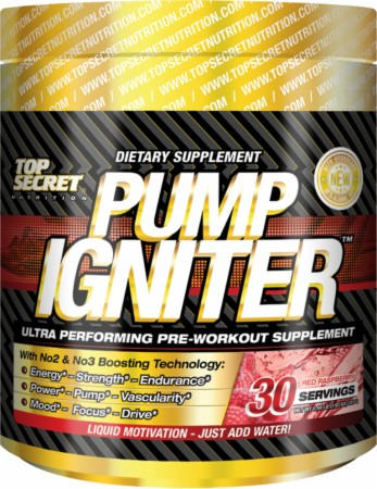 Pump Igniter Top Secret Nutrition (234 гр, 30 порций)