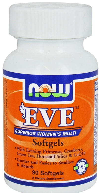 Eve Women's Multiple Vitamin NOW (90 гель кап)