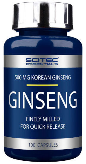 GINSENG SCITEC NUTRITION (100 кап)