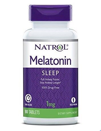 Melatonin Time Release 1 mg Natrol (90 таб)