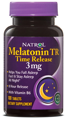 Melatonin Time Release 3 mg Natrol (100 tab)