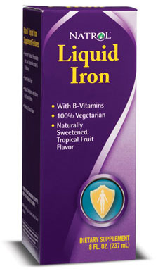 Liquid Iron Natrol (237 ml)