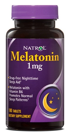 Melatonin 1 mg Natrol (180 таб)