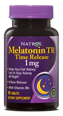 Melatonin Time Release 1 mg Natrol (90 tab)