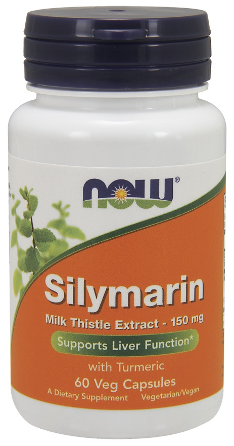 Silymarin 150 mg NOW (60 вег кап)