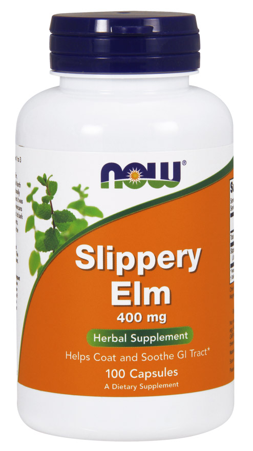 Slippery Elm 400 mg NOW (100 кап)