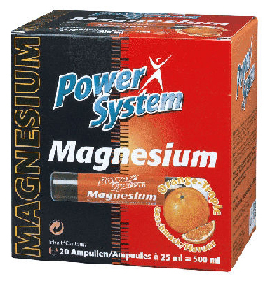 Magnesium Power System (20 amp x 25 ml)