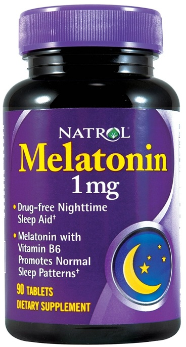 Melatonin 1 mg Natrol (90 таб)