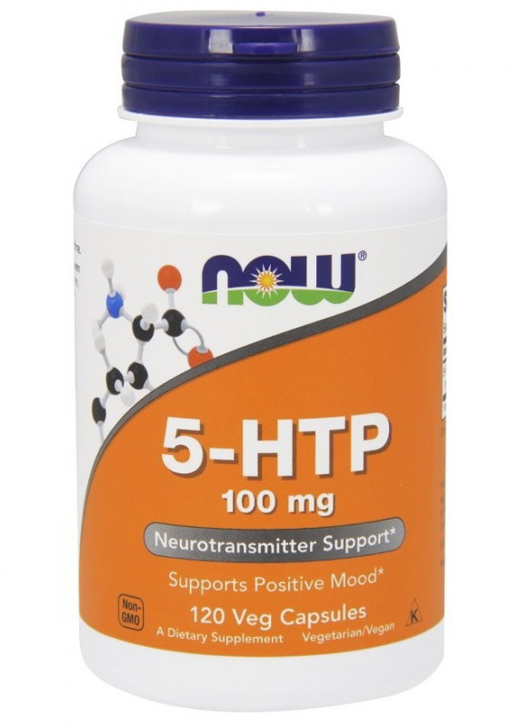 5-HTP 100 mg NOW (120 cap)