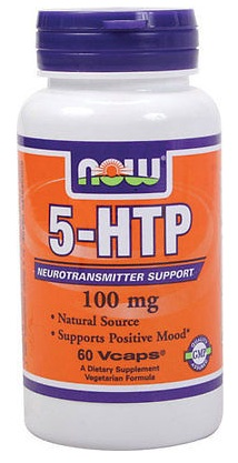 5-HTP 100 mg NOW (60 vcaps)