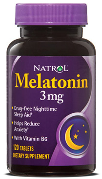 Melatonin 3 mg Natrol (120 таб)