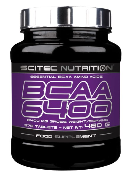 BCAA 6400 SCITEC NUTRITION (375 таб)