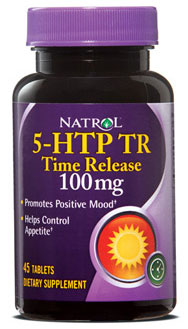 5-HTP 100 mg Time Release Natrol (45 таб)