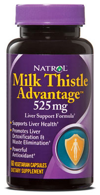 Milk Thistle Advantage Natrol (60 вег кап)