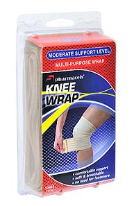 Knee Wrap Pharmacels эластичный бинт для колена (7.6см х 122см)