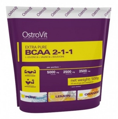 Extra Pure BCAA 2:1:1 OstroVit (500 gr)