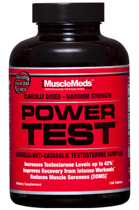 Power Test MuscleMeds (168 tab)