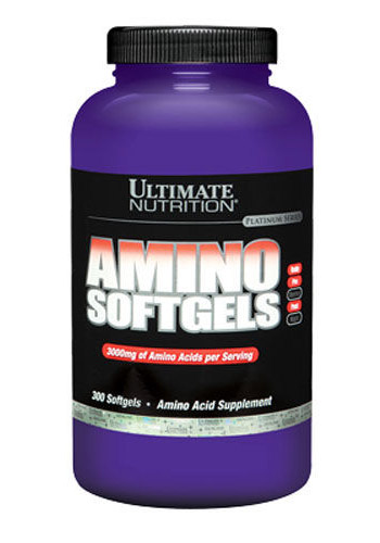 Amino Softgels Ultimate Nutrition (300 гелевых капсул)