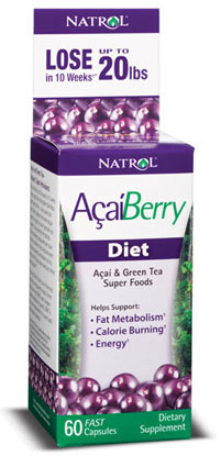 AcaiBerry Diet Natrol (60 cap)