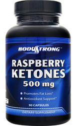 Raspberry Ketones 500 mg BodyStrong (90 кап)