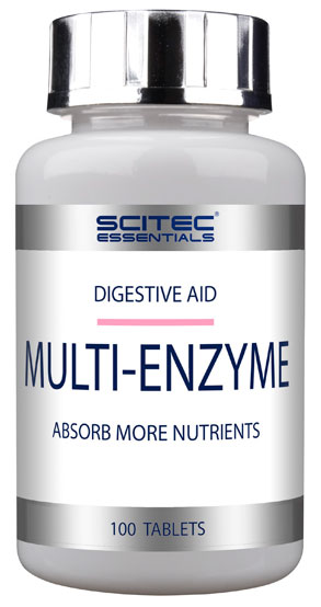 MULTI-ENZYME SCITEC NUTRITION (100 таб)