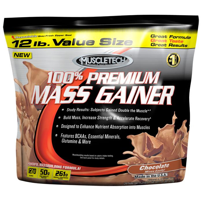 100% Premium Mass Gainer Muscle Tech (5,44 кг)