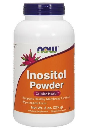 Inositol Powder 8 oz Vegetarian NOW (227 gr)