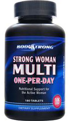 Strong Woman Multi-One-Per-Day BodyStrong(180 таб)годен до 06/18