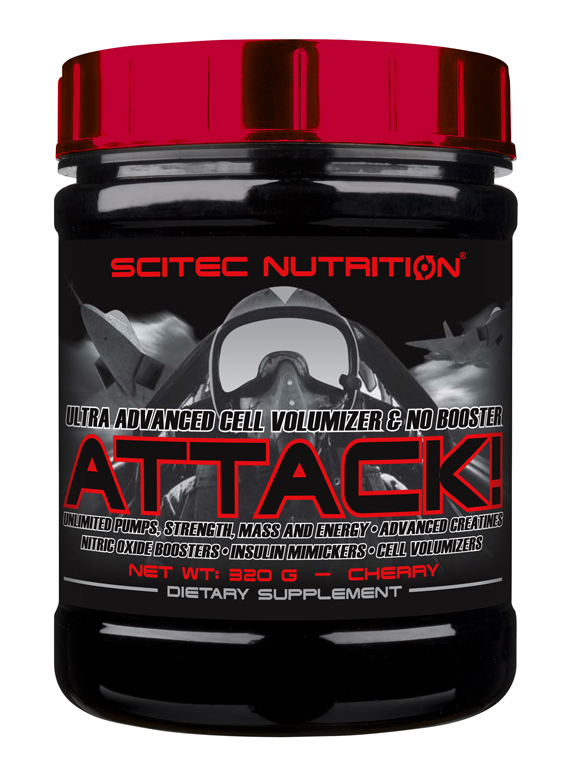 ATTACK! SCITEC NUTRITION (320 gr)