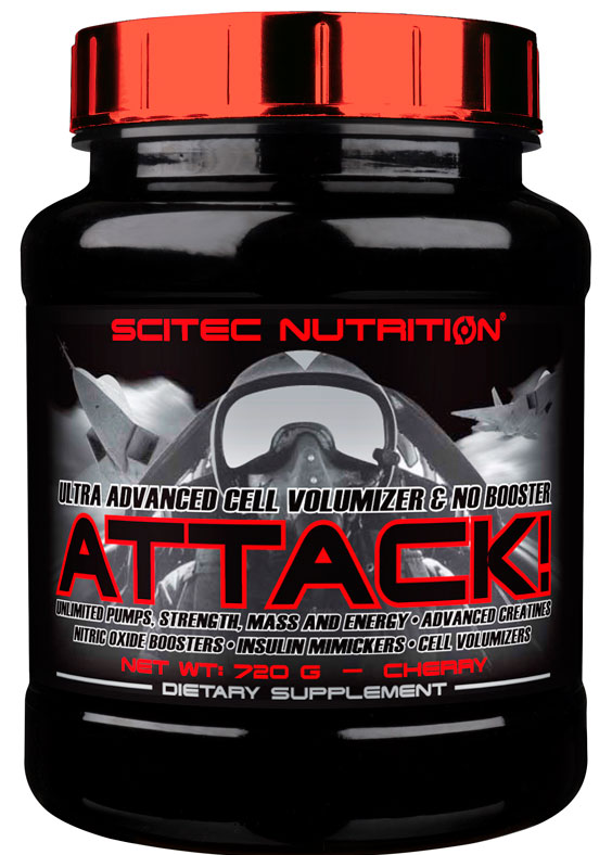 ATTACK! SCITEC NUTRITION (720 gr)