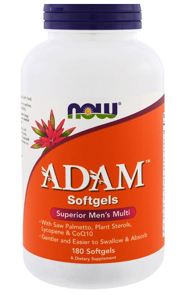 ADAM Superior Men's Multiple Vitamin NOW (180 gel cap)