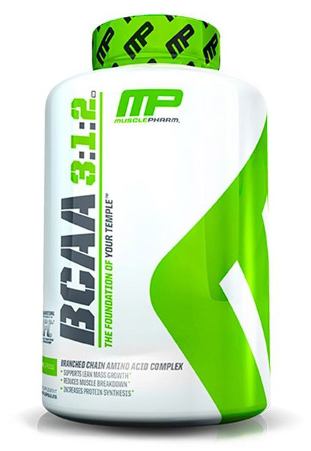 BCAA 3:1:2 MusclePharm (240 cap)