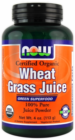 Wheat Grass Juice NOW (113 гр)