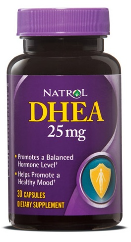 DHEA 25 mg Natrol (30 caps)