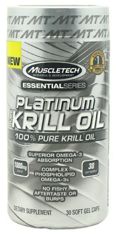 Platinum Pure Krill Oil Muscle Tech (30 softgel)