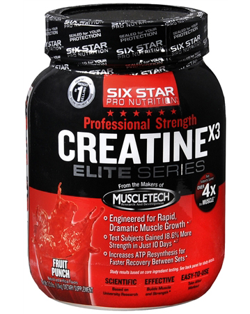 Creatine X3 Elite Series Six Star (1110 gr)