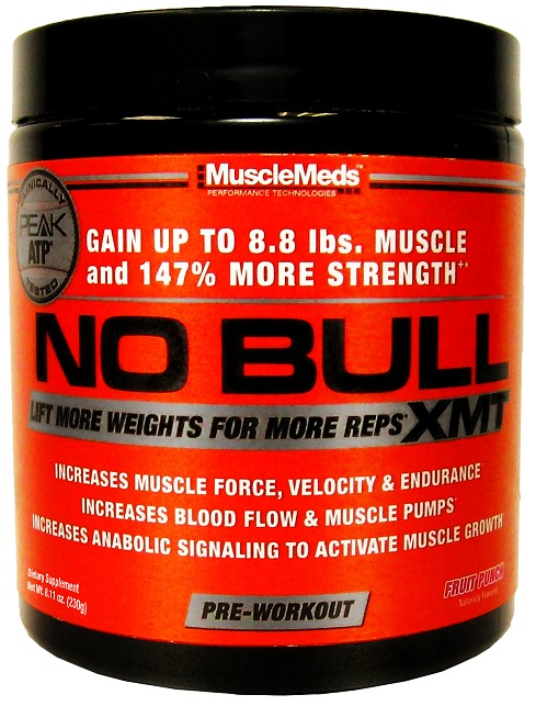NO BULL XMT MuscleMeds (230 гр)(годен до 05/2018)