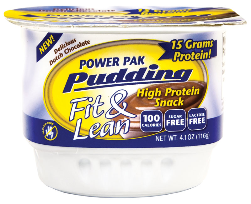 Power Pak Pudding Fit & Lean MHP (128 гр)(годен до 01/2018)