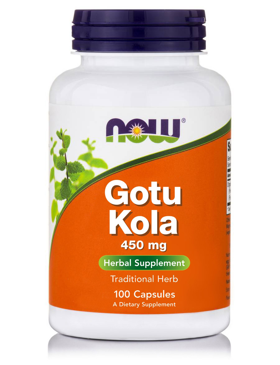Gotu Kola 450 mg NOW (100 cap)
