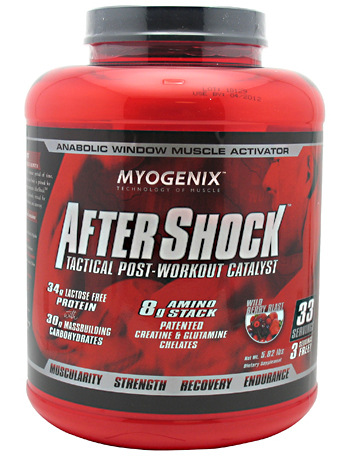 AfterShock Tactical Post Workout Myogenix (2640 гр)