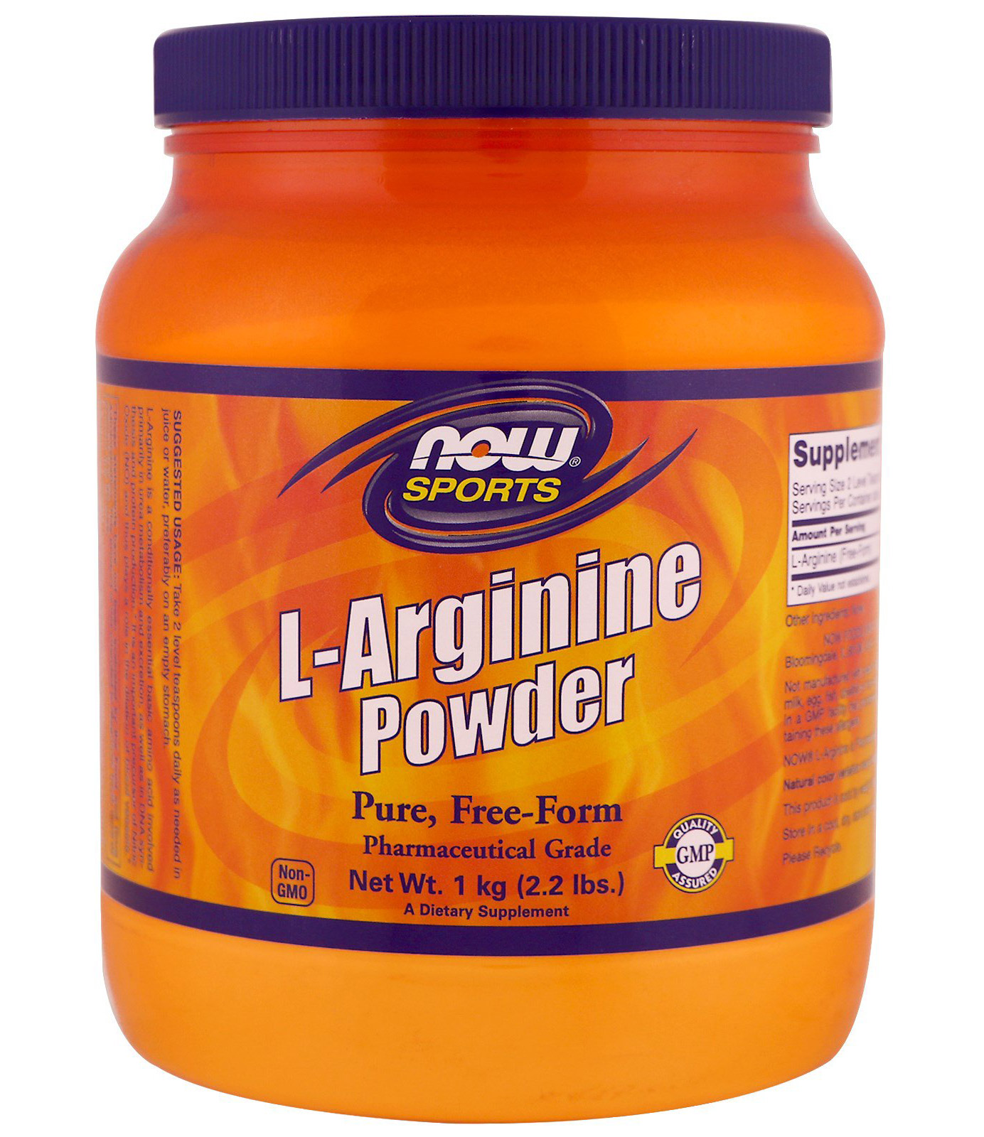 L-Arginine Powder NOW (1000 gr)