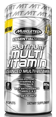 Platinum Multi Vitamin Muscle Tech (90 кап)