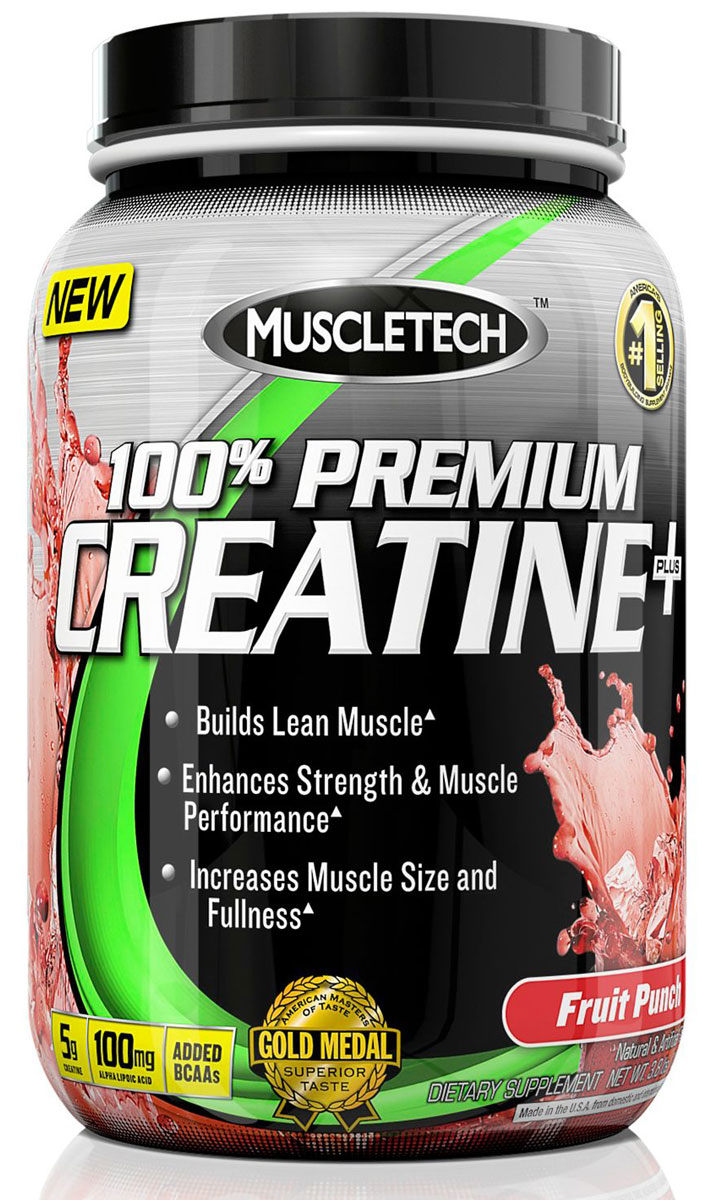 100% Premium Creatine Plus Muscle Tech (1700 gr)