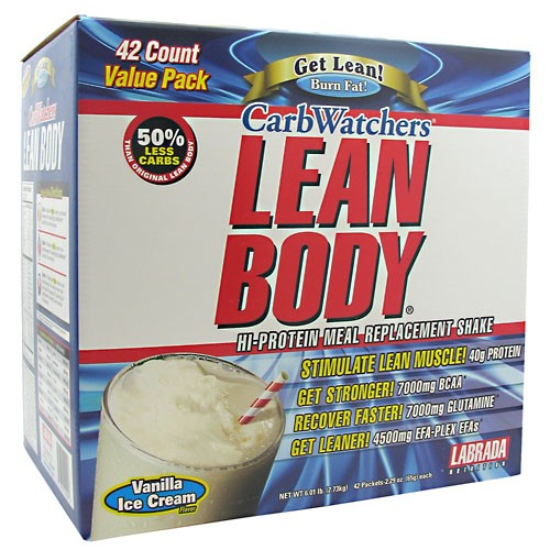 Carb Watchers Lean Body MRP Labrada Nutrition (42 пак по 65 гр)