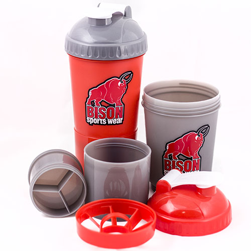 Shaker Bison Smart 3-in-1 (600 ml)