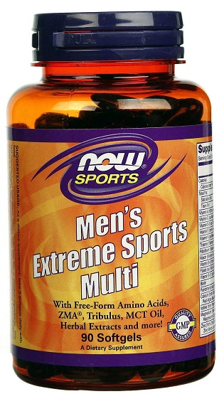 Men\'s Extreme Sports Multi NOW (90 гель кап)