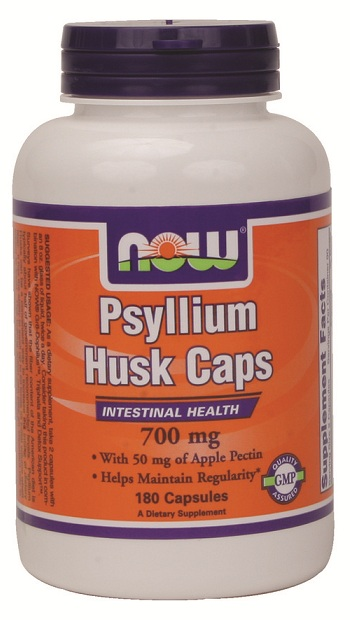 Psyllium Husk 750 mg NOW (180 капсул)