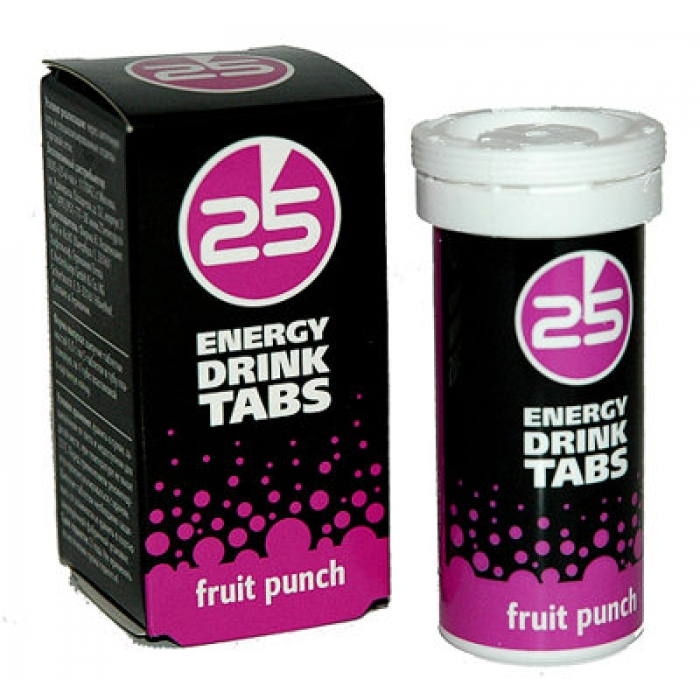 25 Energy Drink Tabs (5 tab)