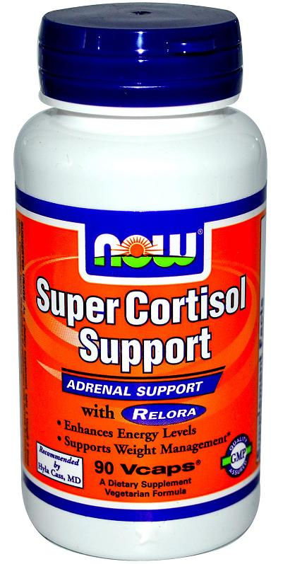 Super Cortisol Support with Relora NOW (90 вегетарианских капсул