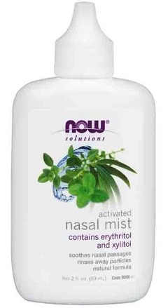 Nasal Mist Activated 2 oz (капли для носа) NOW (59 мл)